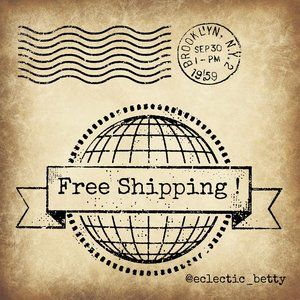 Other - Free Shipping - Add This Listing To Your 2+ Bundle